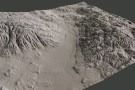 Terrain sculpting in Mudbox